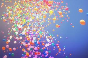 Багато повітряних кульок